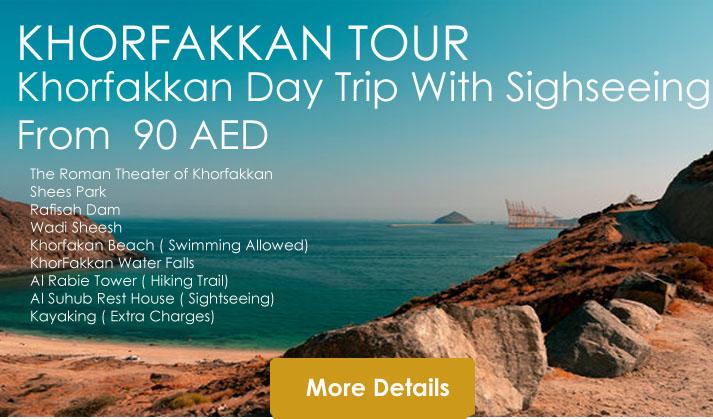 Khorfakkan tour
